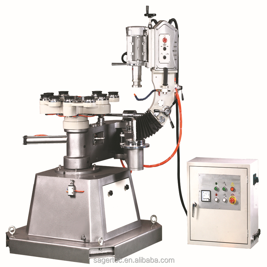 Manufacturer suppliy portable glass edge polishing machine