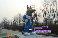 6m high giant advertising inflatable wolf animal for sale C-311