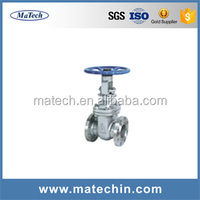 Api 6a Oilfield High Pressure Steel Flanged Metal Seal Mud Gate Valve