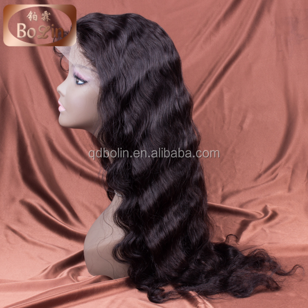 Alibaba China manufacturer large stock best quality private label wigs 120% density front lace wig
