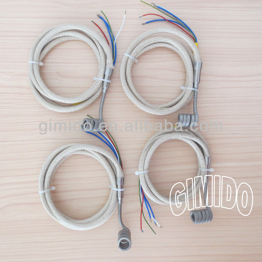 Electric Hot Runner Coil Heater, Heater Coil Inner Dia.9.5*22mm, 120V300W,Thermocouple <strong>K</strong>