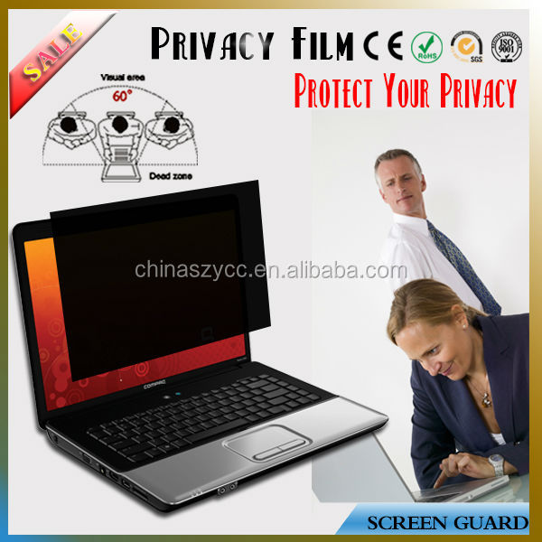 "China Factory Supplier For Lcd/PC/Desktop/Laptop/Notebook Screen(8'-30"") Privacy Screen Shield Cover"