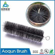 Multi-function flue sweeping brushes