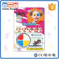 4 color clown Face painting kids make up cosmetics list of paint manufacturers