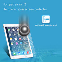 For iPad2/3/4 Tempered Screen Protector