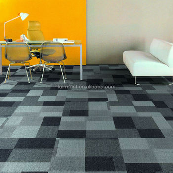 Pictures of Carpet Tiles for Floor / 100% PP Carpet Tiles with Bitumen Backing CZ-01
