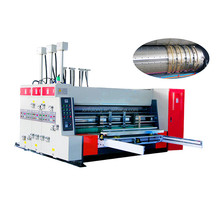 Carton Flexo Printing Slotting Die Cutting Machine/printing machine