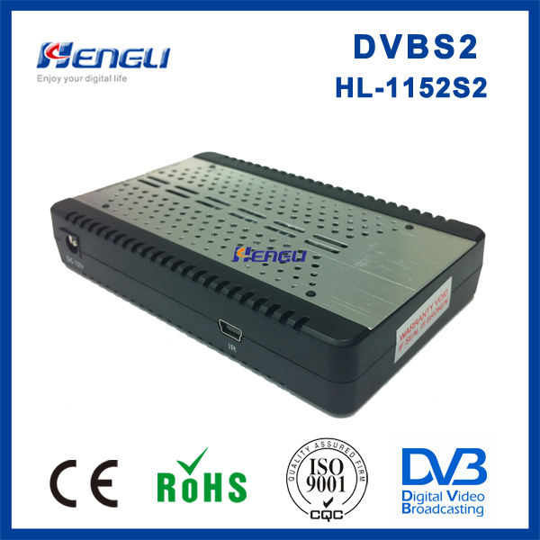 high quality dvb-s2 MPEG4 H.264 FTA digital mini dvb s2 8psk receiver