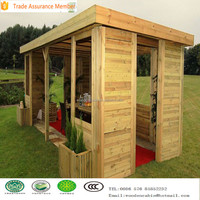 Beautiful wooden kit gazebo