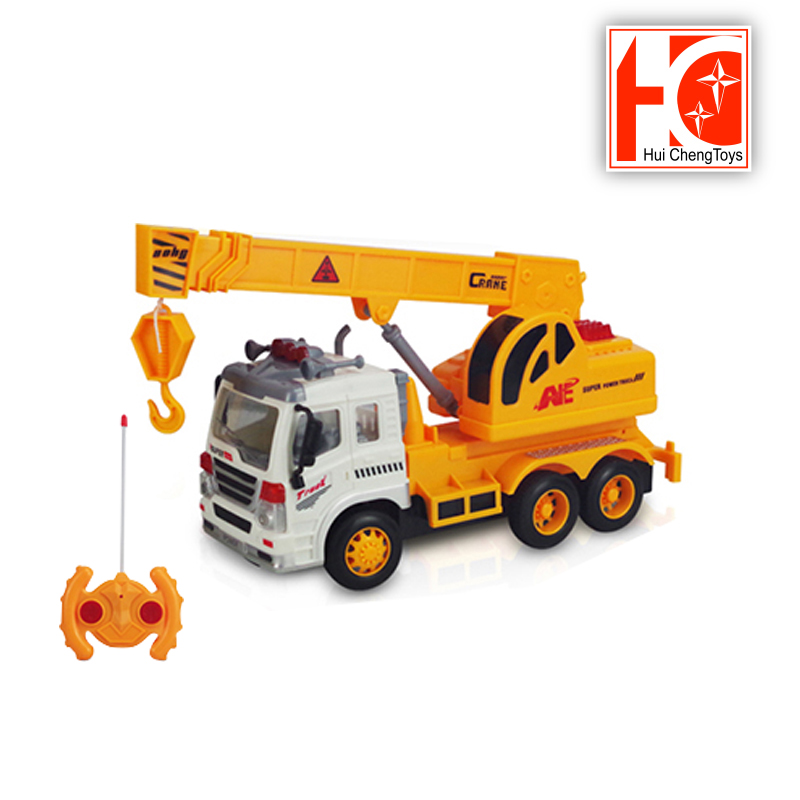 rc construction toy truck excavator crane truck