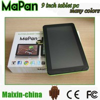 ATM7029B QUAD CORE FRONT AND BACK camera 9 inch tablet cheap price China