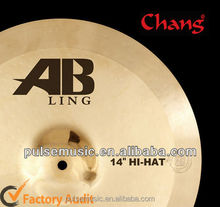 High Quality Chang AB-HF14L AB Ling Hi-hat Cymbal For Music Instrument