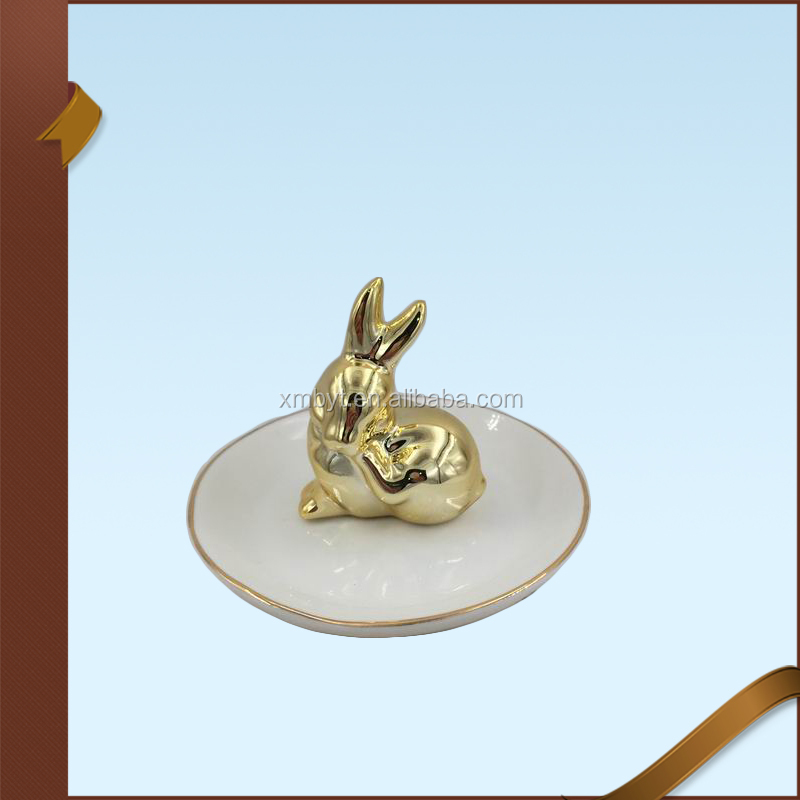 Home Decor Bunny Ring Jewelry Holder Jewelry Display Stand Jewelry Rack Wholesale