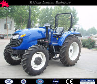 China made high quality 4x4 90hp farm machinery tractor for sale