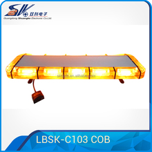 Manufacturer! 120W Emergency Warning Light Bar super bright COB led signal driving light bar