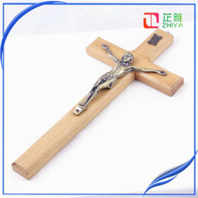 olive wood jerusalem craft cross