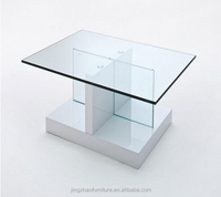 high gloss coffee table white glass top and gloss base