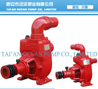 Self suction small diesel water pump