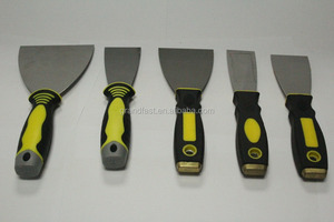 All kinds of putty knife with black and yellow color