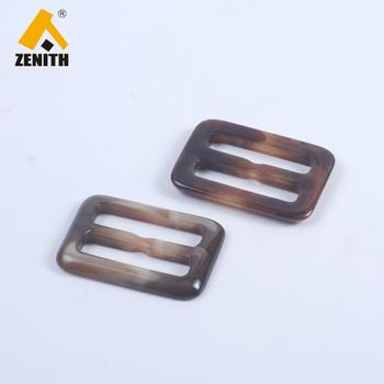 Custom Resin Adjustable Buckle for Coat  Waist Buckle    KR50042 44
