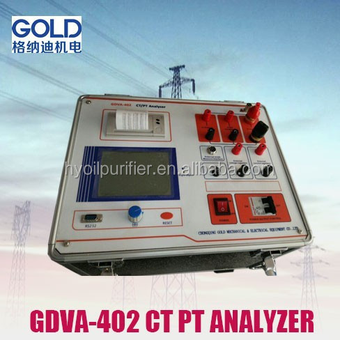 GDVA-402 High Performance Current Transformer Tester CT/PT Tester