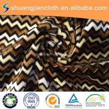 100% polyester factory custom korea velvet fabric/spandex fabric for pillowslip