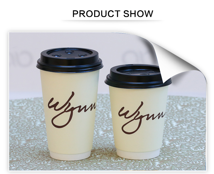 Low MOQ 200ml double wall paper cups wholesale