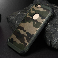 Shockproof&durable combo case, green camo case for iphone 6 6s camo phone cases