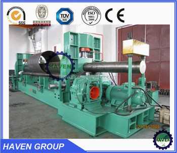 W11S Hydraulic universal three roller plate rolling machine