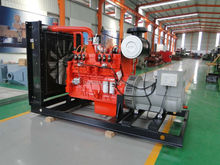 Methane gas generator water cooled Siemens alternator 300kw natural gas generator