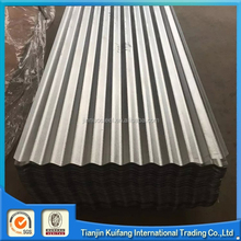 SGCC DX51D galvanized corrugated sheet metal roofing