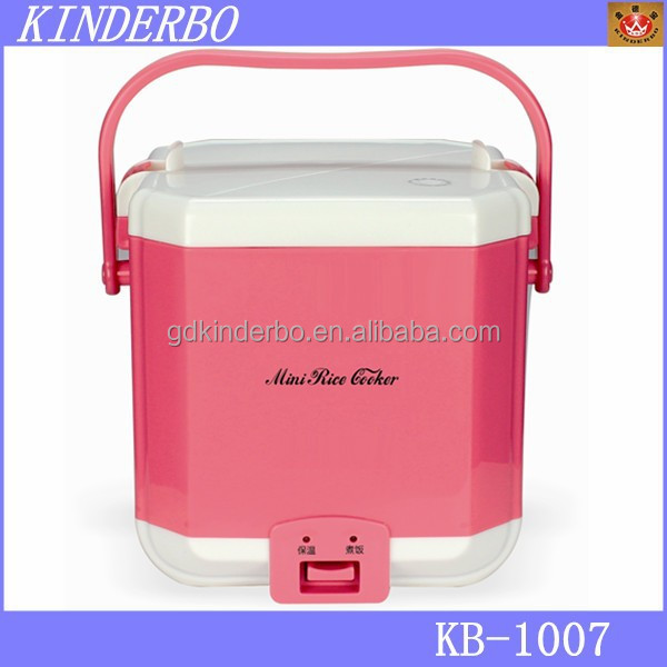 Mini size warm heating electric lunch box rice cooker