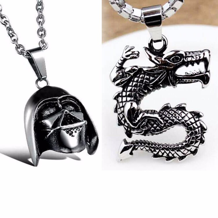 Punk style arrow necklace / game of thrones necklace jewelry