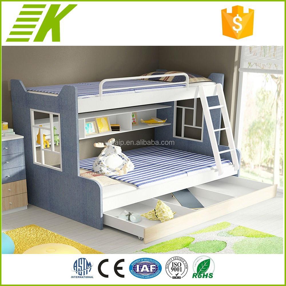 Luxury Children Bus Bed Children Bunk Bed