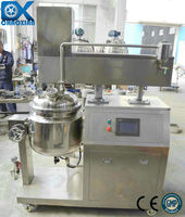 Vacuum emulsifying unit