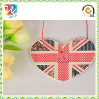 wholesale customized logo cotton paper cheap car air fresheners