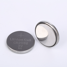 Hot Sale Cr2032 Lithium Hearing Aid Button Battery 3v Coin Cell