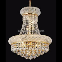 8-light Royal Cut Crystal and Gold Chandelier for Sale Home decor Fixture-71006