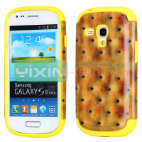 2 in 1 Detachable design For Samsung Galaxy S3 Mini i8190 Silicone+PC Hard case cover
