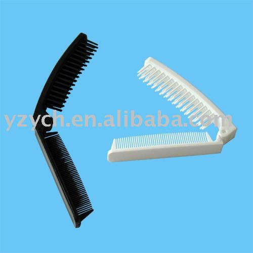 plastic pocket hairbrush