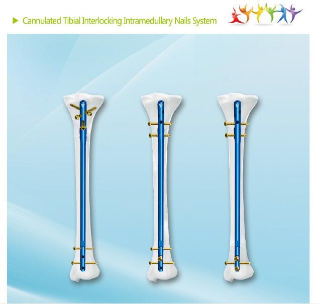Cannulated Tibial Interlocking Intramedullary Nail,Orthopedic ...