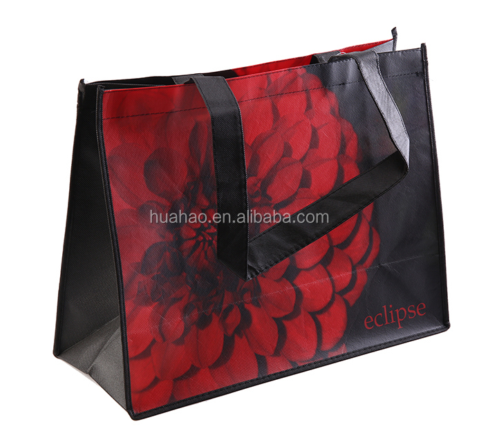 promotional china laminated non woven shopping bag