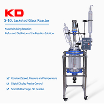 Keda Instrument Jacket Heating Glass Reactor