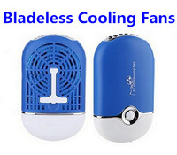 Rechargeable Mini USB Bladeless Fan, Air Conditioner Handheld Bladeless Fan Ventilador