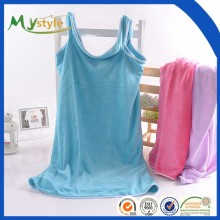 Good quality cheap price Absorbent microfiber hotel bath towel wrap dress
