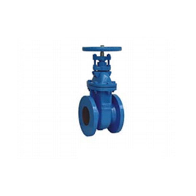 Non-rising metal seated stem flanged gate valve
