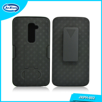 China Supplier Belt Clip Holster Combo Case for LG G2