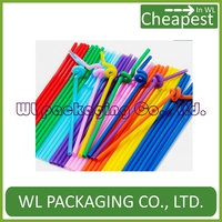 lovely food grad tube for plastic/.paper juice or beverage cup