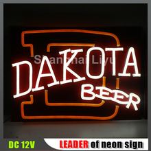 fashionable advertising customize dneon light rope sign
