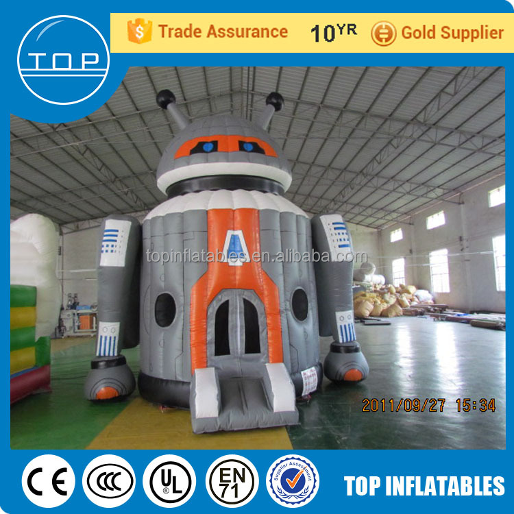 Plato disco dome inflatable house big bounce houses for sale happy hop bouncy castle made in China